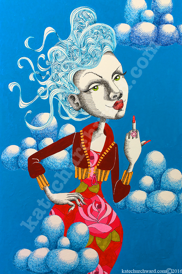 Image of Goddess #7 - Cool As (print)