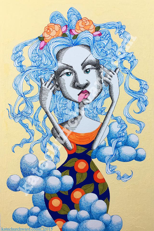 Image of Goddess #4 - Cray Cray (print)
