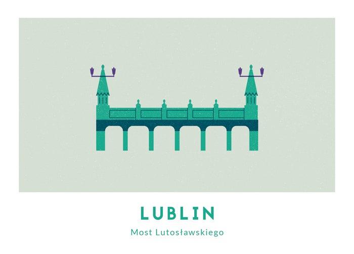 Image of Pocztówka - Most Lutosławskiego // Michał Bednarski