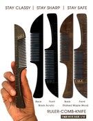 Image of Ruler - Comb - Knife