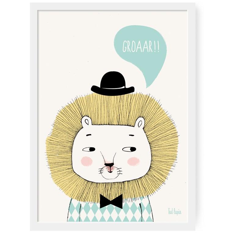 "Image of Poster A3 ""Groaar"""