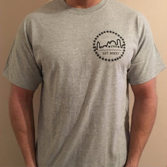 Image of Heather Grey Logo Tee