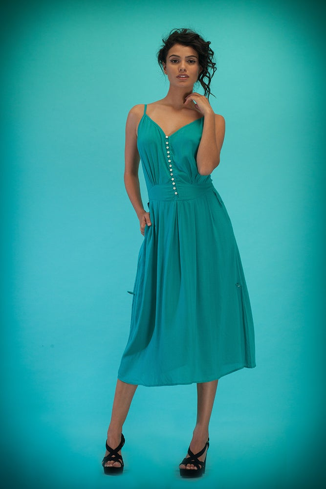 Image of PRISM Collection | EMMELINE Dress | aqua