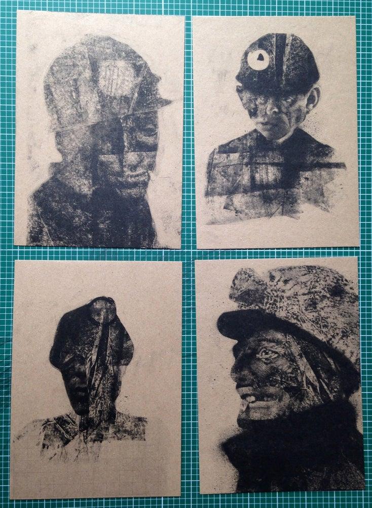 Image of Bradford Miners - 4 Print Set