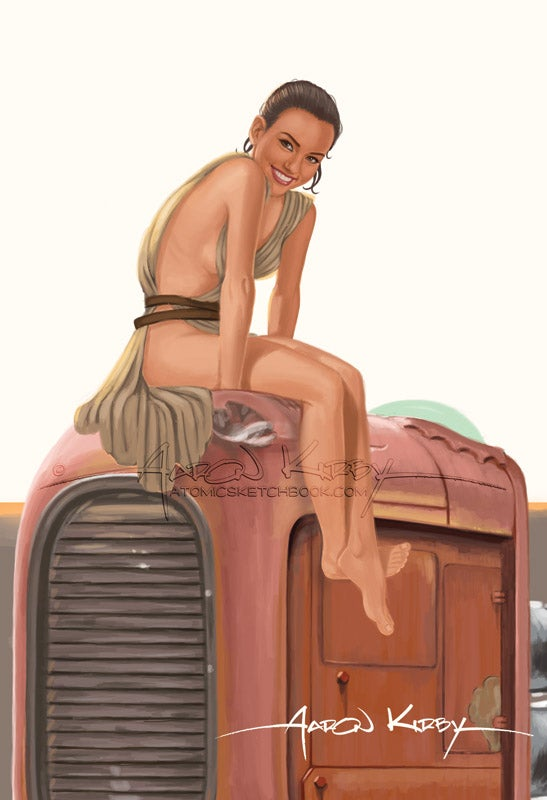 Image of Rey Pin Up