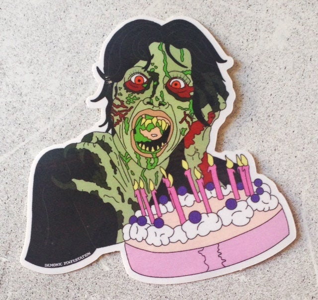 Image of Happy Birthday Sally Sticker