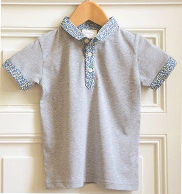 "Image of SS16 <> Tshirt polo bébé garçon ""JO Liberty Rio"""