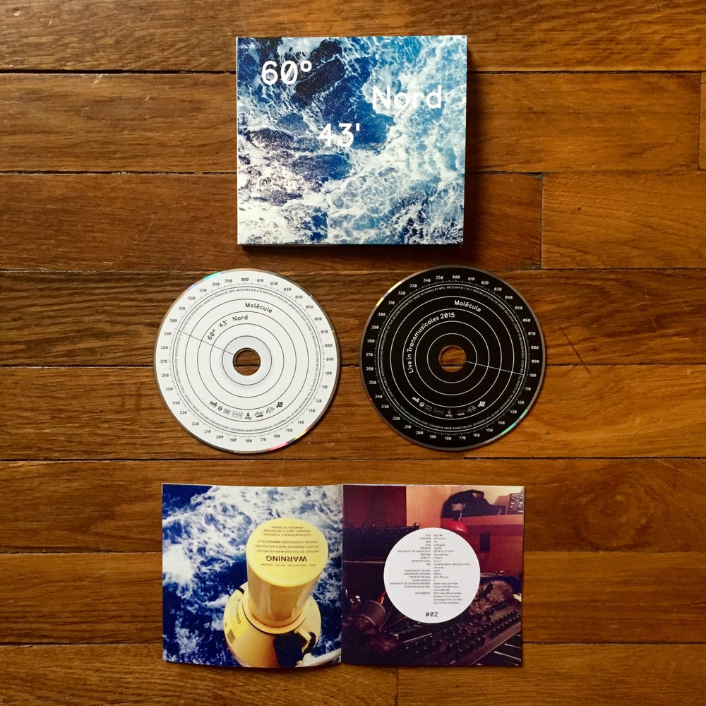 Image of Molécule -  60°43' NORD - DELUXE EDITION (DOUBLE CD)