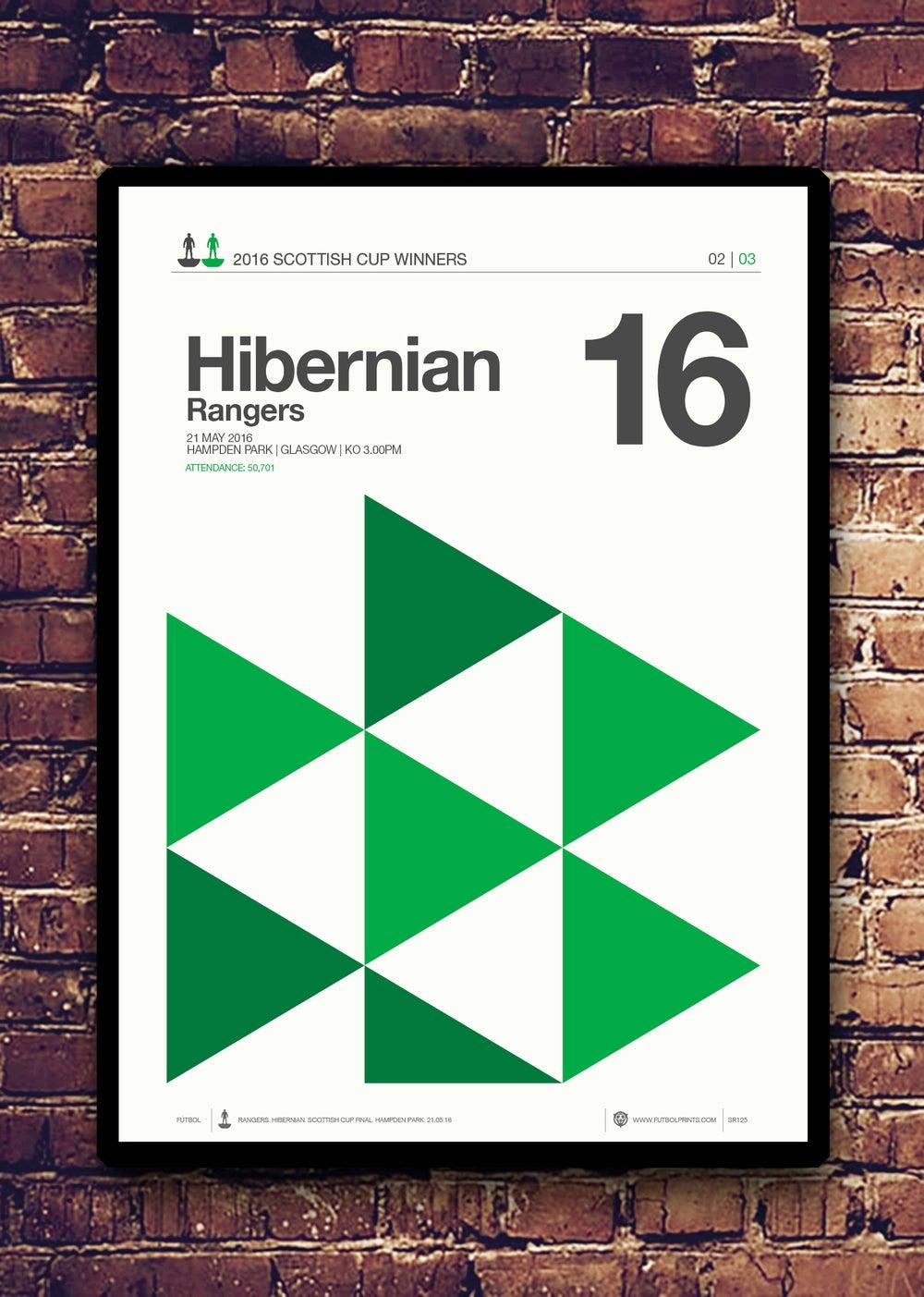 Image of HIBERNIAN - SCOTTISH CUP WINNERS 2016