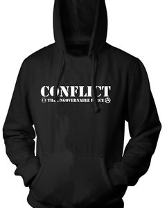 Image of Conflict Ungovernable Force Hoodie