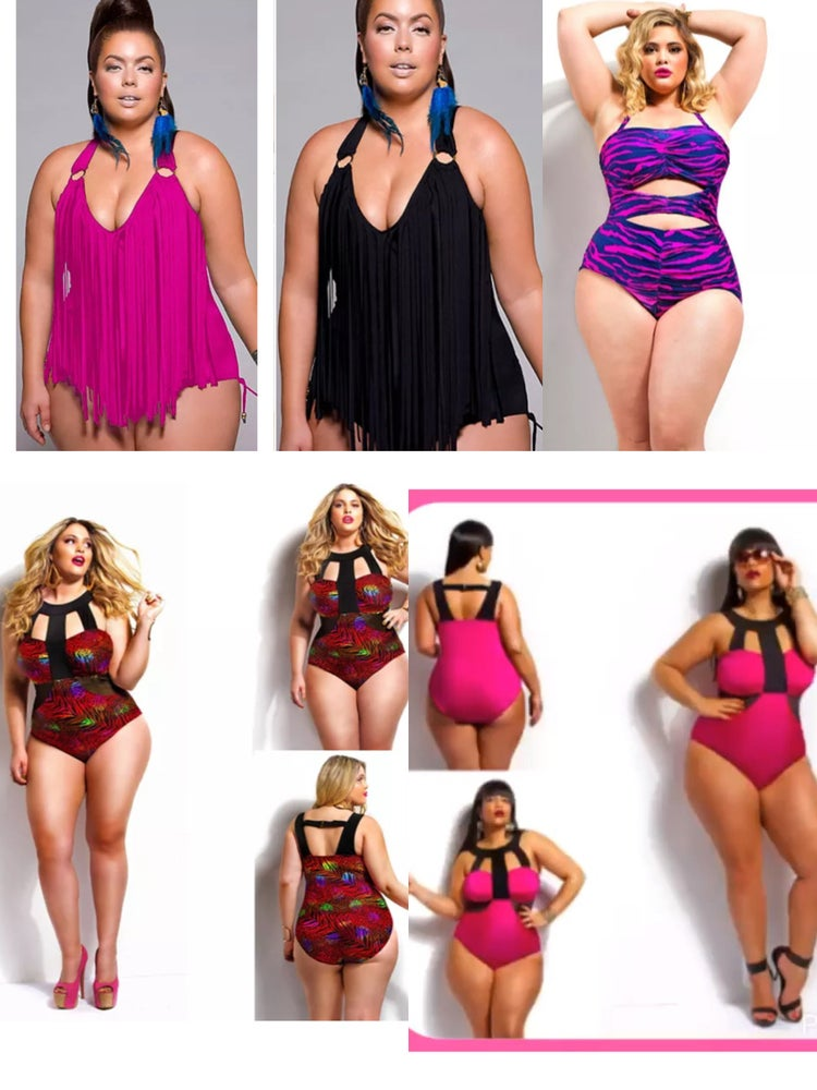 Image of Ladies One Piece Swimsuits