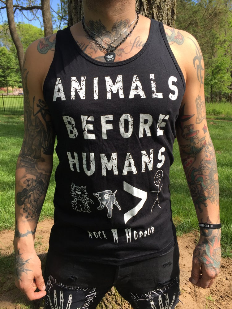 Image of Animals Unisex Tank