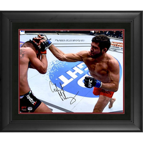Image of Fanatics Authentic Gilbert Melendez UFC Framed Autographed 8 x 10 Throwing Punch Photograph