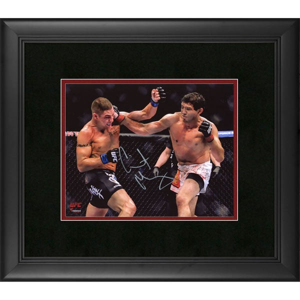Image of Fanatics Authentic Gilbert Melendez UFC Framed Autographed 8 x 10 Horizontal Punching Photograph