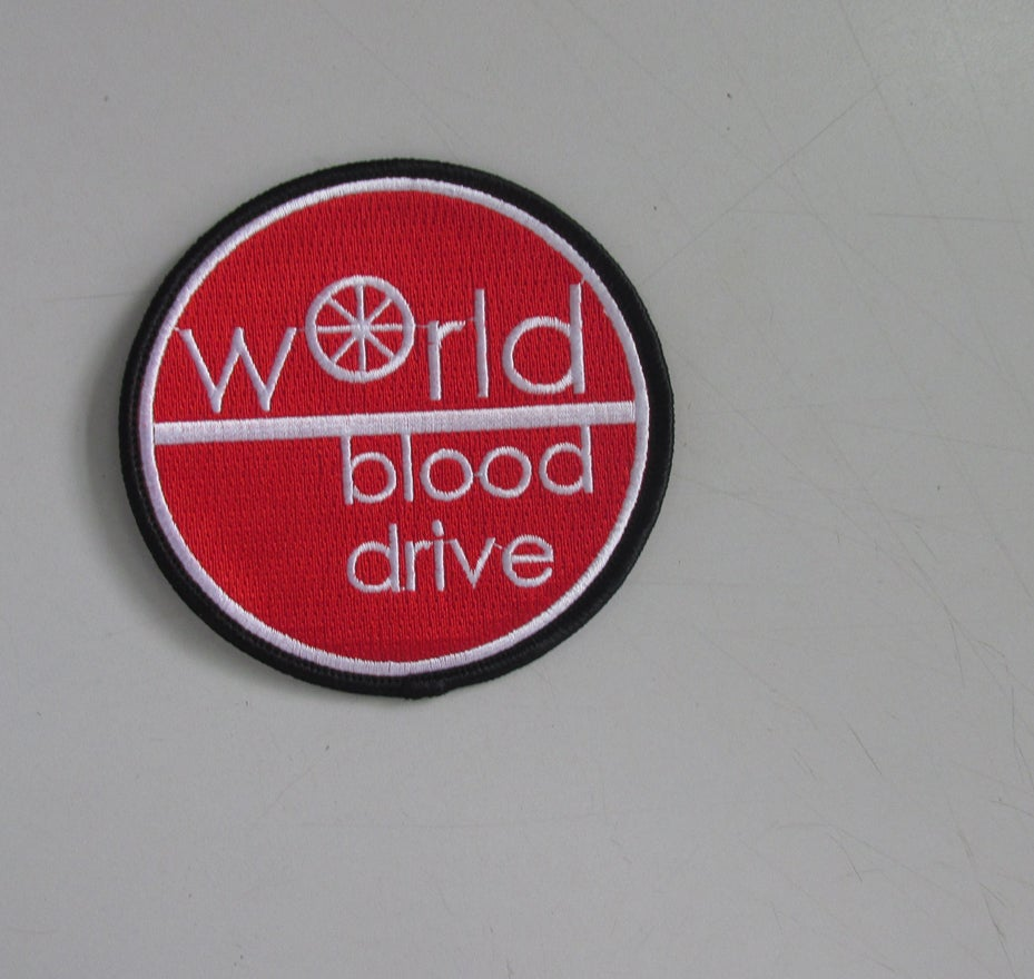 Image of World Blood Drive 2016 Death Star Patch