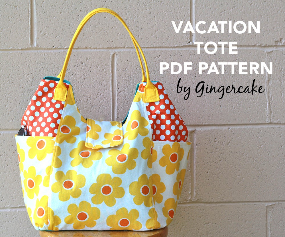 Image of Vacation Tote PDF Sewing Pattern