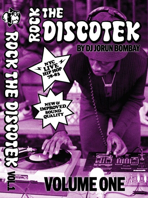 Image of Rock The Discotek Volume 1 Mixtape