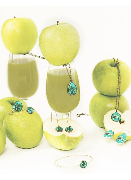 Image of Bijoux collection Green