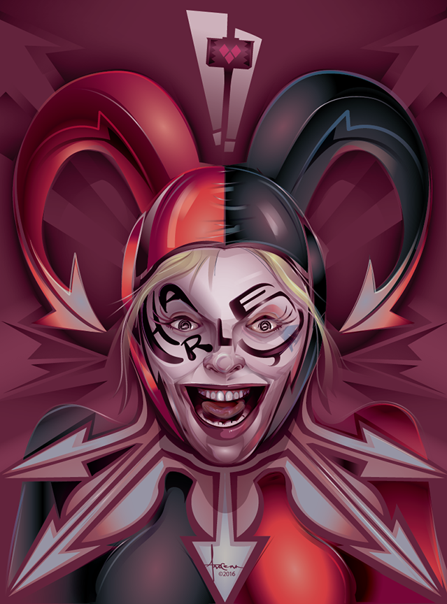 Image of Harley Loves Beatrice- 18x24-Edtn50_2016