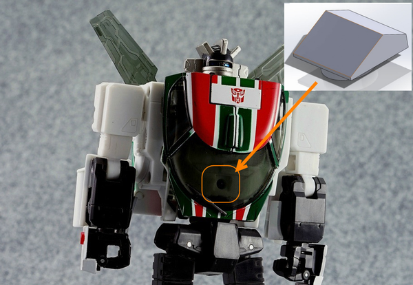 Image of ATP-03 Dash Cover for MP-20/23 WheelJack Or Exhaust
