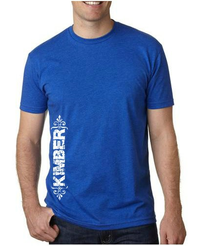 """Image of Unisex """"Kimber"""" Tee - Available in Blue and Gray"""