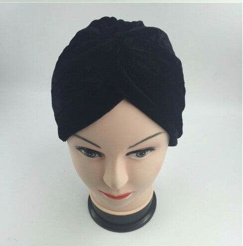 Image of Premium Stretchy Unisex Velvet Turban