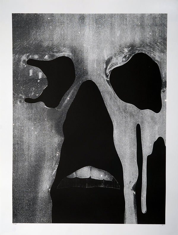 "Jesse Draxler - ""untitled (diamond dust), 2016"" - 1 Color Screenprint - Edition of 6 - Misc. Press"