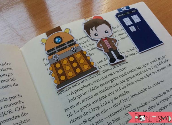 Image of Magnetic Bookmarks - Dr Who