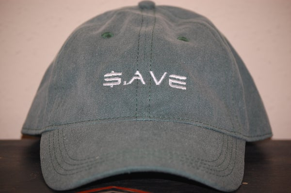 Image of Jungle Green $.AVE Hat