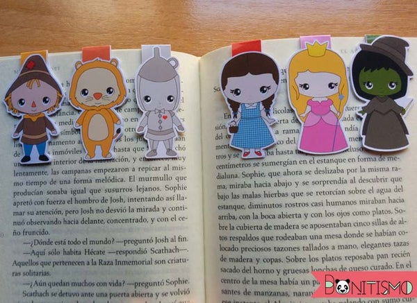 Image of Magnetic Bookmarks - Wizard of Oz