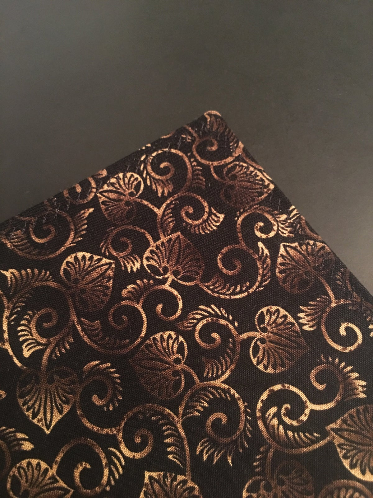 Image of Chocolate Cream Paisley