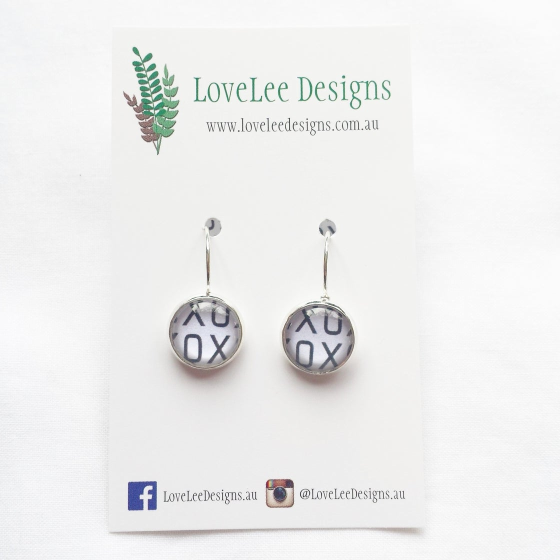 Image of Earrings - XOXO