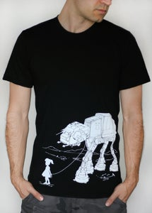 Image of My Star Wars ATAT Pet - Mens T shirt, Star Wars T shirt