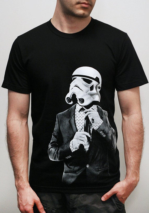 Image of Smarttrooper - Star Wars mens t shirt, t shirt men, Star Wars t shirt