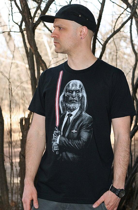 Image of Dark side walker - Game of thrones t shirt, Star wars mens t shirt