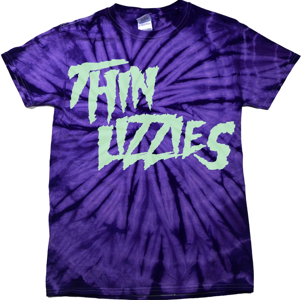 Image of Thin Lizzies Girl Gang Tie Dye Purple