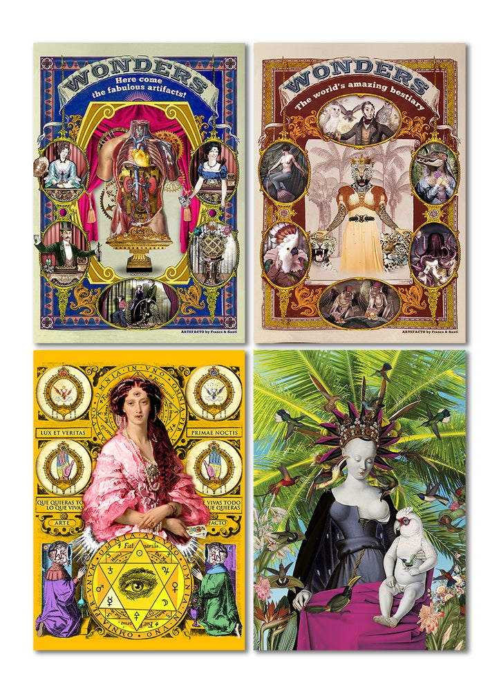 Image of 8 Postcards Set - Envio Gratis a España