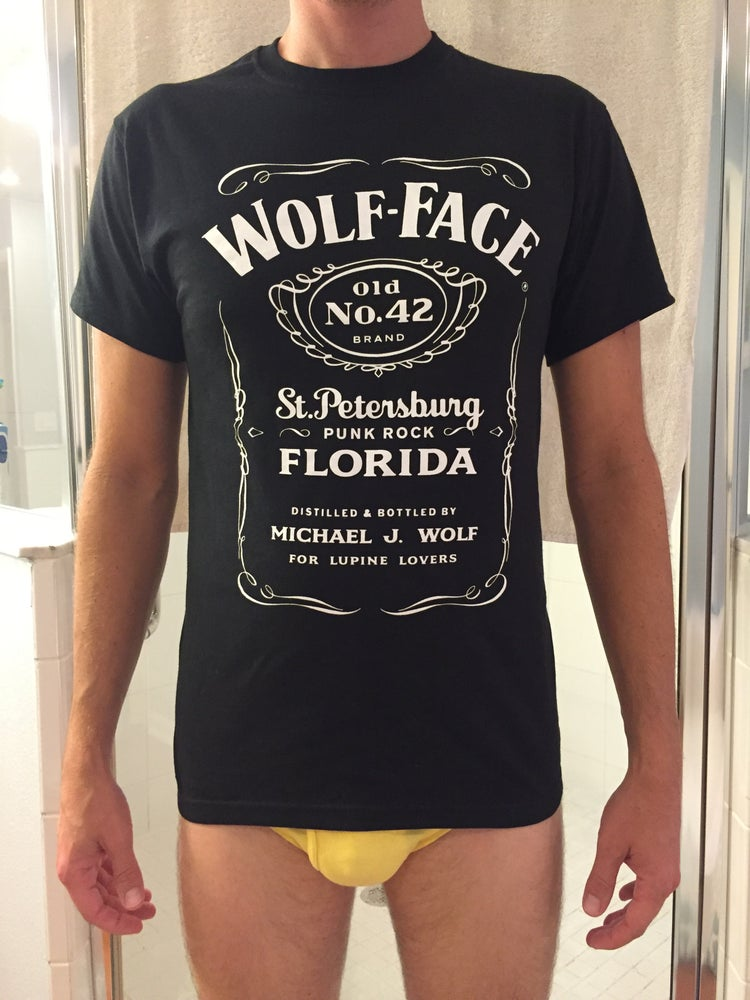 "Image of Wolf-Face ""J.D."" T-Shirt"