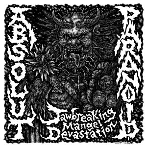 Image of ABSOLUT / PARANOID - JAWBREAKING MANGEL DEVASTATION SPLIT 12""