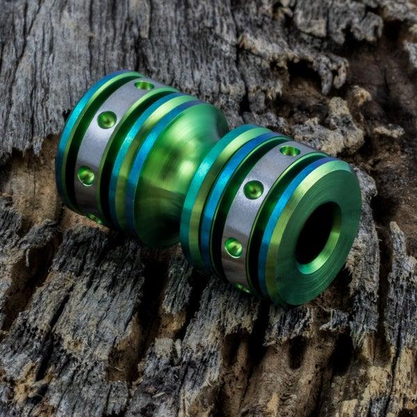 Image of Lime Green Triple Bead Set #4