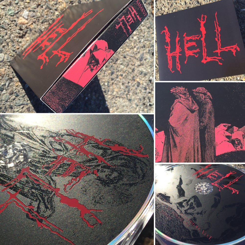 Image of HELL MMXVI 4xCD Box
