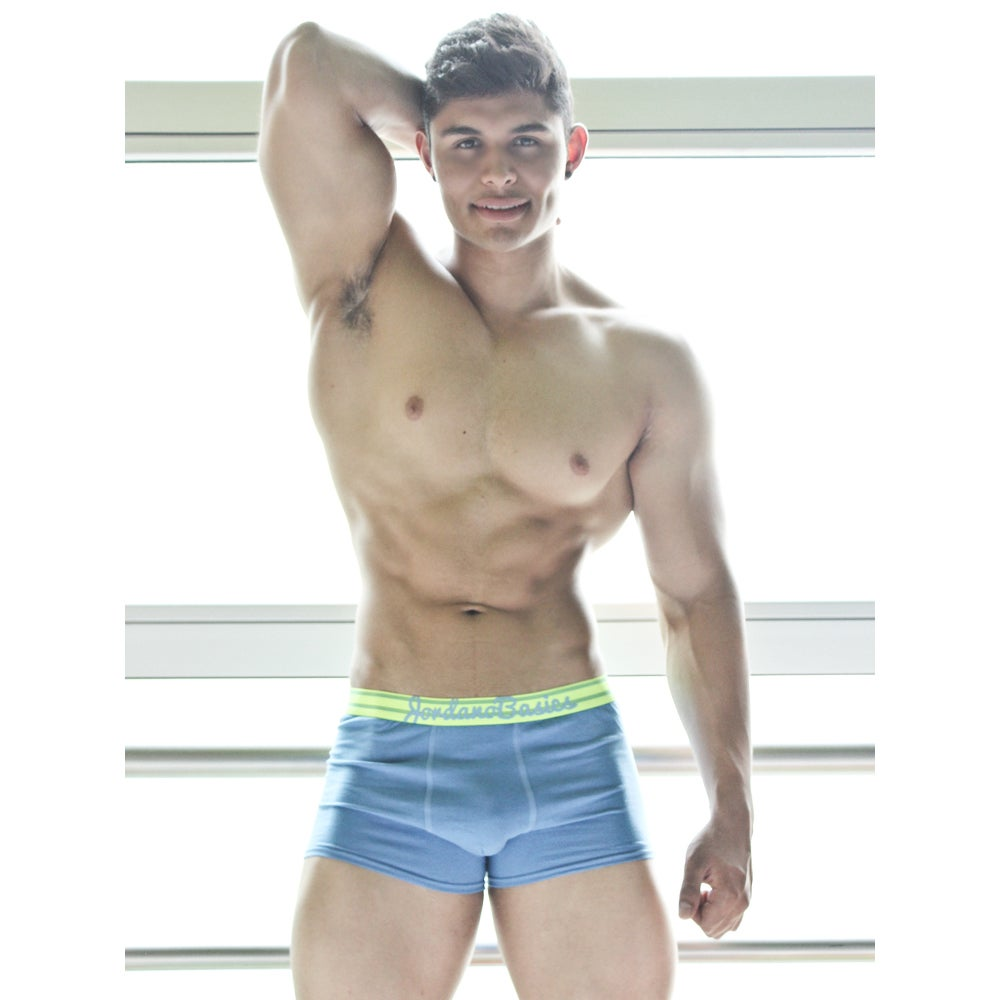 Image of BOXER FIT AZUL CIELO