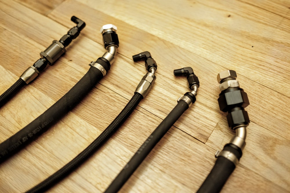 Image of mk4 Supercharger Oil feed line