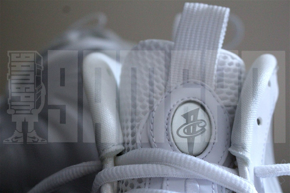 "Image of NIKE AIR FOAMPOSITE ONE ""WHITE"""