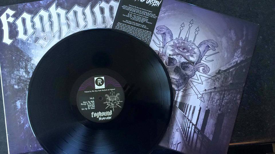 Image of Foghound - The World Unseen - World-Wide Black Universe Edition LP