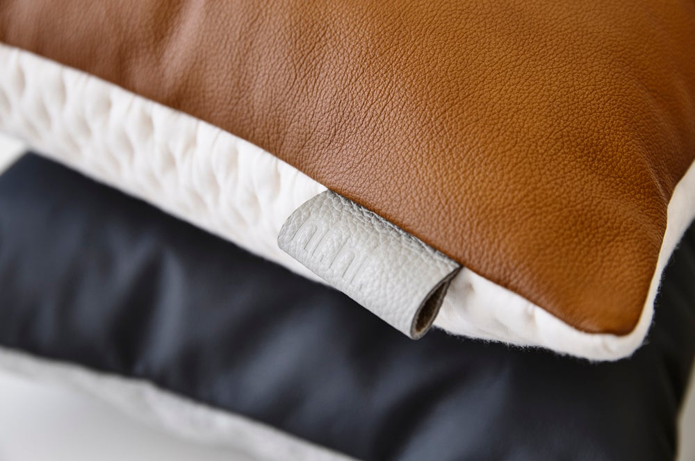 Image of Kumo Cushion Cover - Tawny Square
