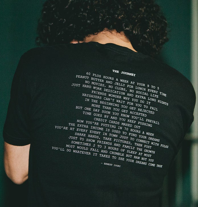 Image of The Journey Tee