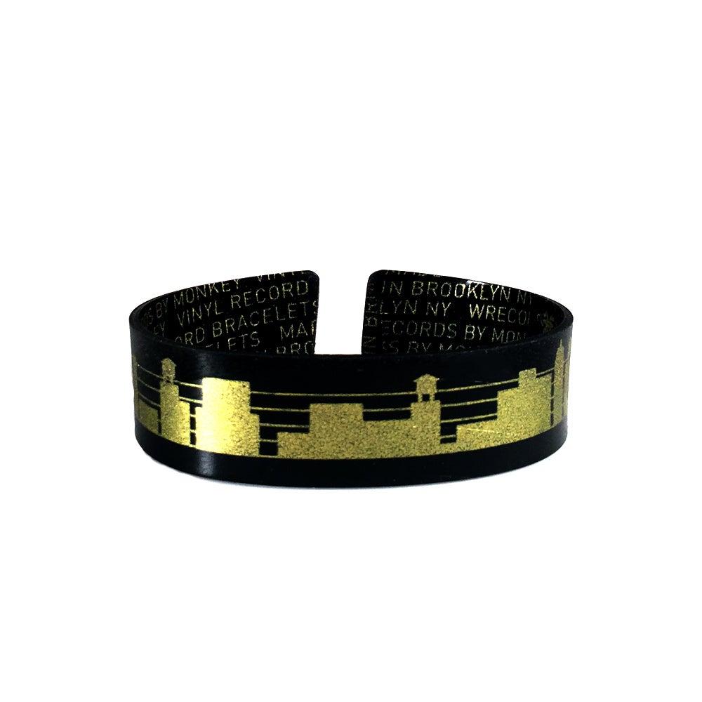 Image of Music Staff Cityscape Bracelets