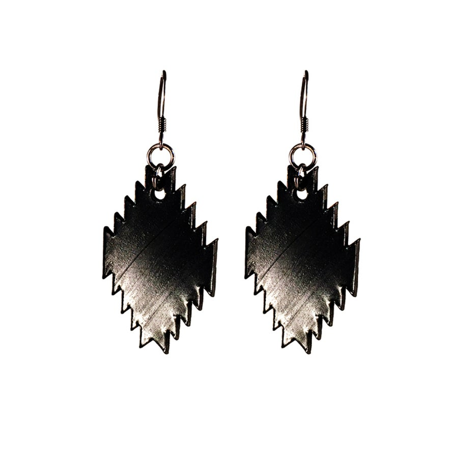 Image of Record Pendleton Pendant Earrings