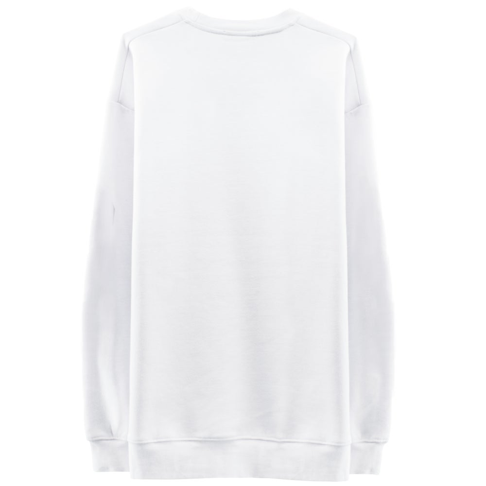 Image of GLITCH LOGO Sweatshirt - White